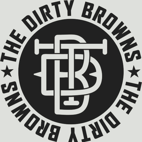 the dirty browns logo